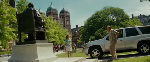 University of Pennsylvania in Transformers trailer