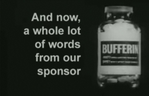 And now, a whole lot of words from our sponsor