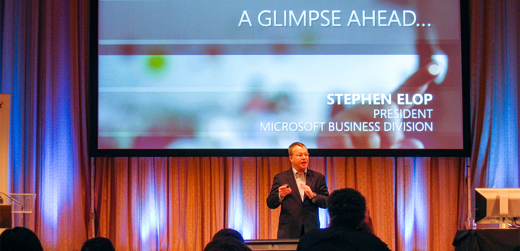 Interview with Microsoft President Stephen Elop