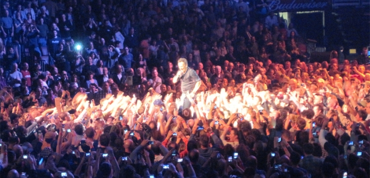 Bruce Springsteen at the Wells Fargo Center - 2012-03-29