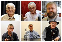 Comic book creators at New York Comic Con 2011