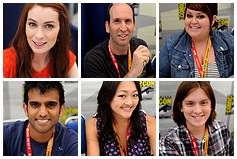 'The Guild' and 'Geek and Sundry' at Comic-Con 2012