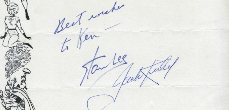 Best wishes to Ken -- Stan Lee, Jack Kirby