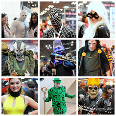 Cosplay at New York Comic Con 2013