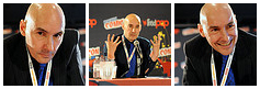 Grant Morrison at New York Comic Con 2012