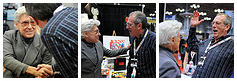 Jim Sternako and Dave Gibbons at New York Comic Con 2012