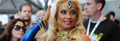 Coco Austin strolls through New York Comic Con