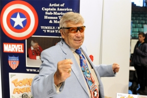 Allen Bellman at Asbury Park Comic Con - Photo by Kendall Whitehouse