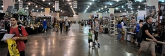 The show floor at Wizard World Philadelphia 2013