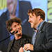 Neil Gaiman and Jonathan Ross and the Eisner Awards Ceremony
