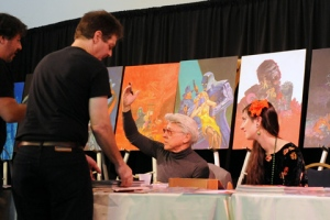 Jim Steranko at the Locust Moon Comics Fest
