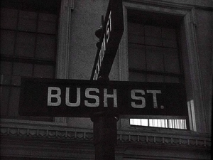 Bush St. and Stockton St.