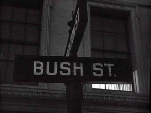 Bush St. and Stockton St.