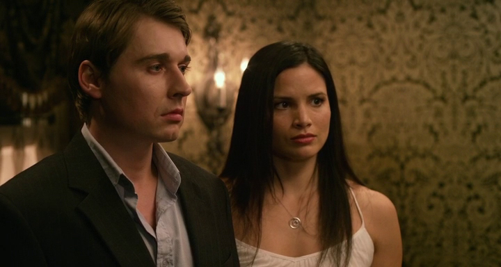 Jody Quigley and Katrina Law in 'Apparition'.