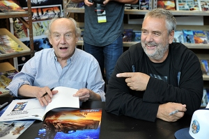 Jean-Claude Mézières and Luc Besson - New York Comic Con 2016.
