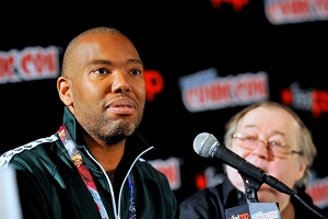 Ta-Nehisi Coates and Don McGregor - New York Comic Con 2016. Pho