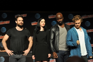 Marvel's The Defenders - New York Comic Con 2016. Photo by Kendall Whitehouse.