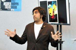 Vivek Tiwary - New York Comic Con 2016. Photo by Kendall Whitehouse.