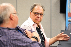 Jon-B-Cooke-Howard-Chaykin-EastCCC-2018-photo-by-Kendall-Whitehouse-600x400