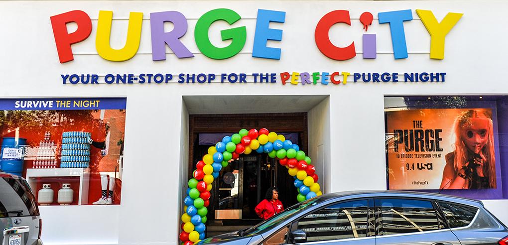 Purge City Storefront