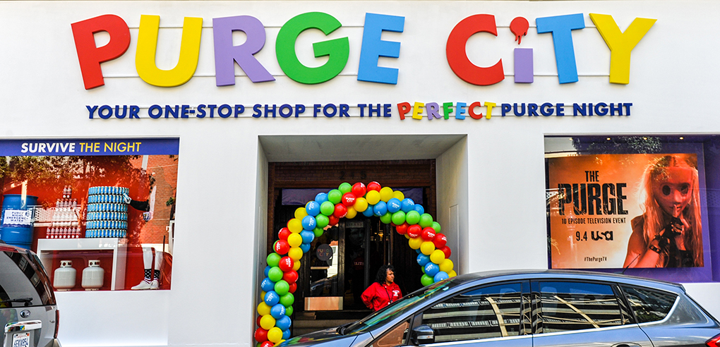 The Purge City Experience at Comic-Con