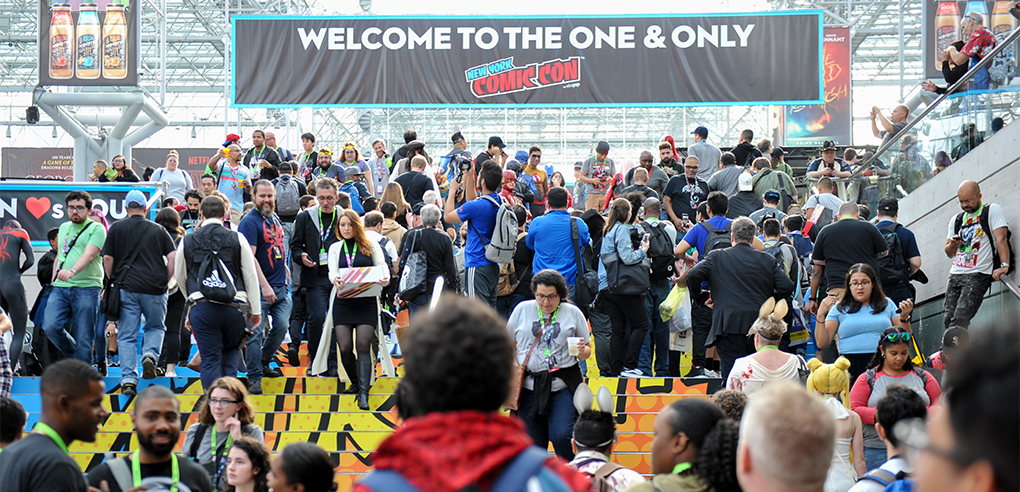 New York Comic Con Spotlights Television andComics
