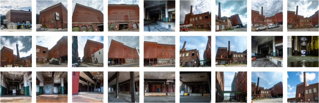 "Montage of photos of Philadelphia Warehousing and Cold Storage (""Philly Cold"")."